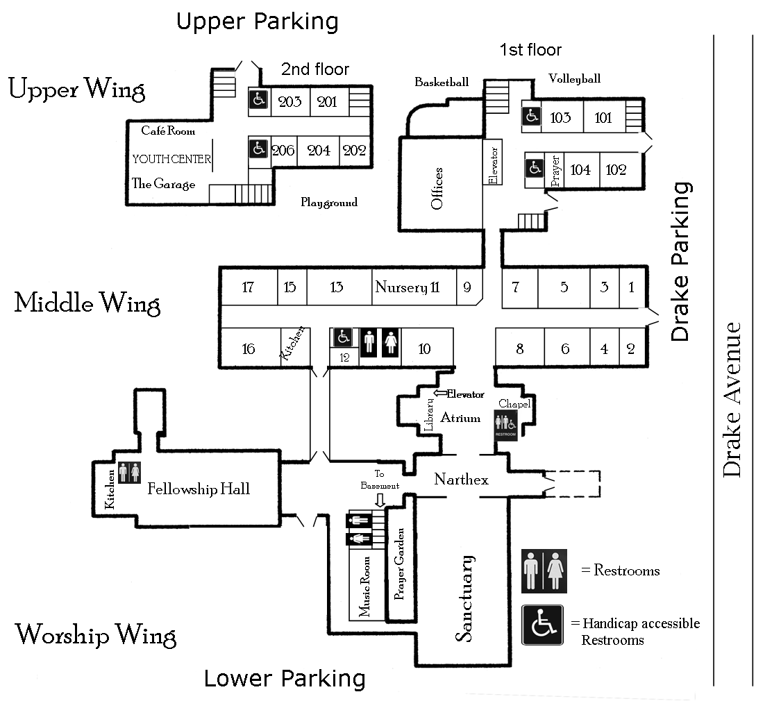 Covenant Church Interactive Campus Map